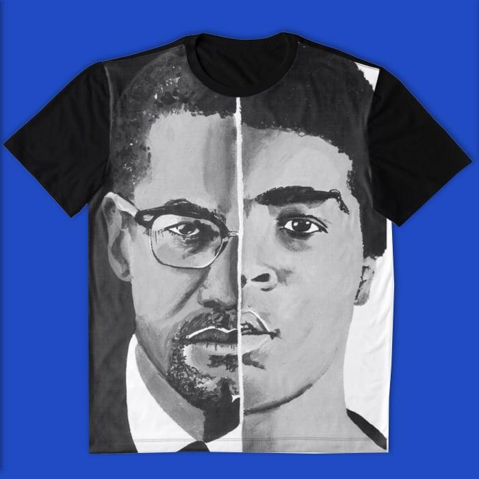 Image of Malcolm/Ali (All Over Print Tee)