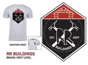 Image of RR Classic Logo - RR Buildings T-Shirt