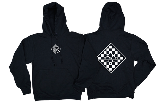 Image of Check Out hoodie - FINAL SALE