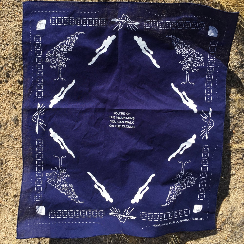 "Image of Hiking Club LA ""Clouds"" Bandana"