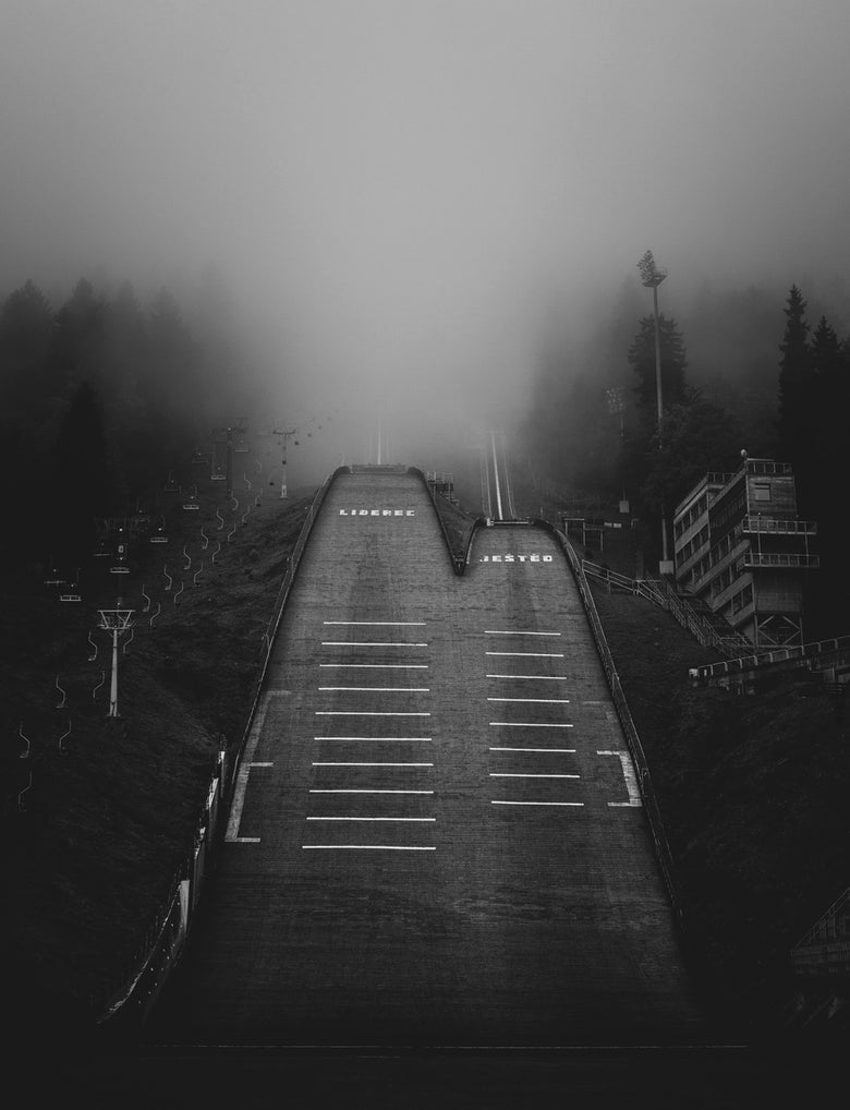 Image of Ski jumps