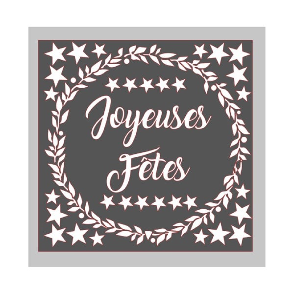 Image of Stickers Joyeuses Fêtes