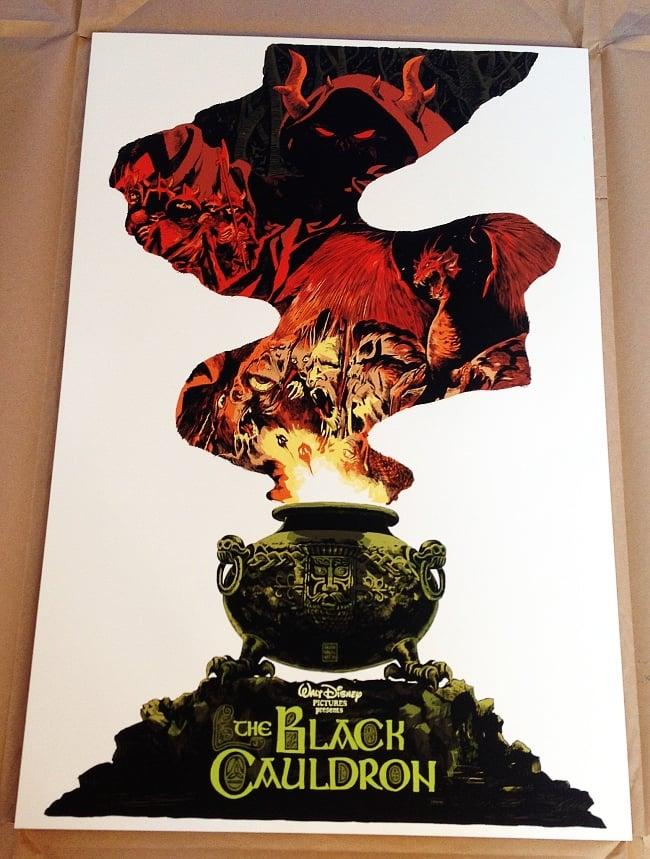 Image of Black Cauldron - Mondo Artist Proof