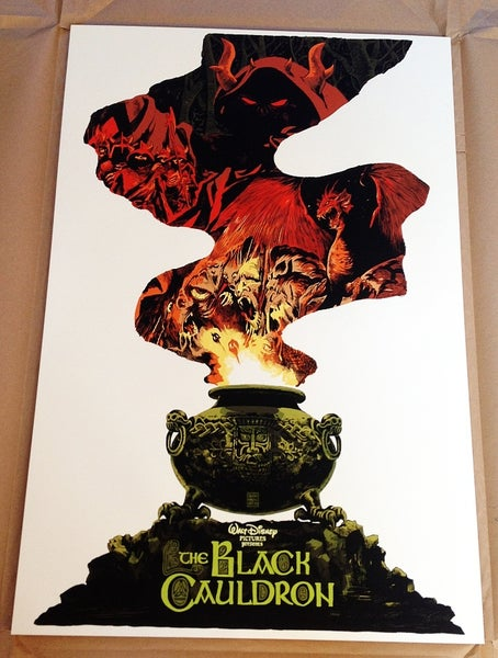 Image of Black Cauldron - Mondo Artist Proof