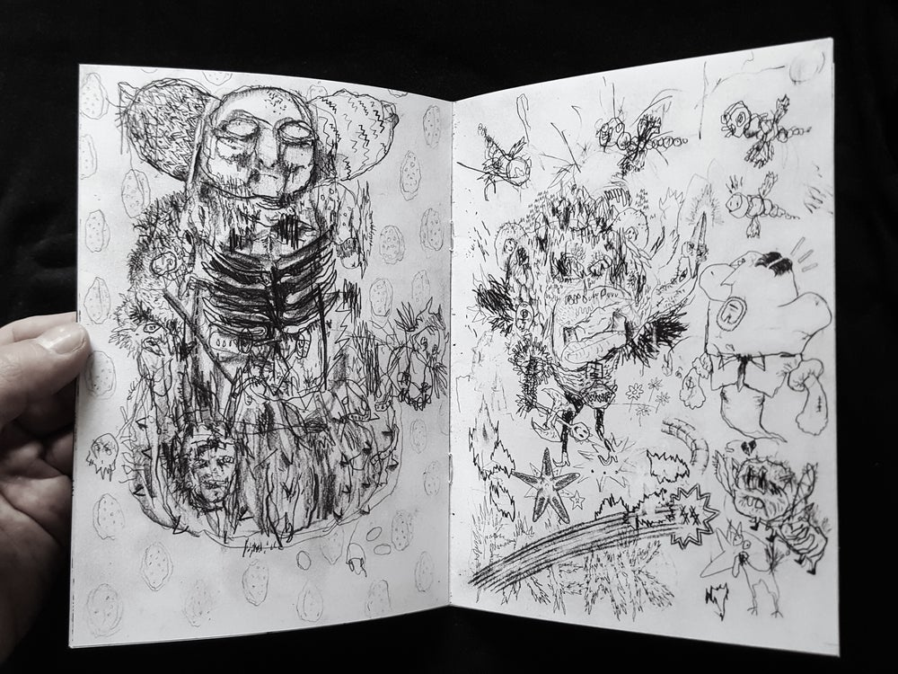 "Image of Nils Bertho + Adam Stone ""GRADUATE SKETCHBOOK"""