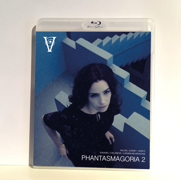 Image of PHANTASMAGORIA 2 - BLU-RAY-R + DVD (HD COLLECTION #12, DESIGN A) SIGNED AND STAMPED, LIMITED 50