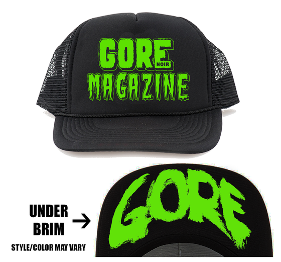 Image of Trucker Hat EC Logo Preorder GREEN