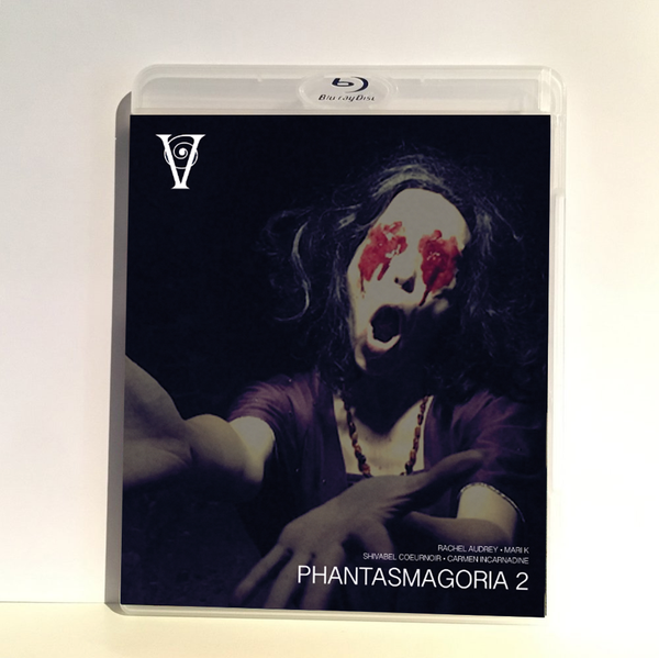 Image of PHANTASMAGORIA 2 - BLU-RAY-R + DVD (HD COLLECTION #12, DESIGN C) SIGNED AND STAMPED, LIMITED 50