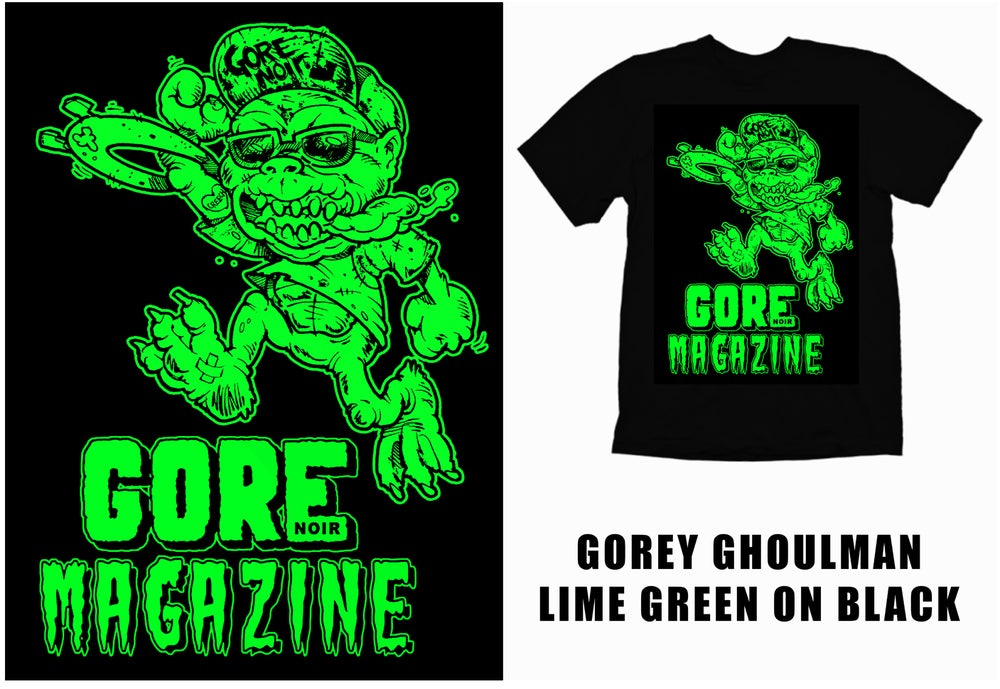 Image of Limited Edition Gorey Ghoulman T-Shirt