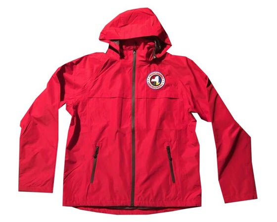 Image of Night Grind Red Tech Windbreaker