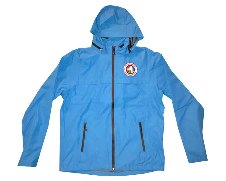 Image of Night Grind Blue Tech Windbreaker