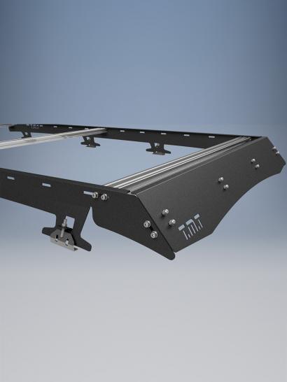 Image of TMT Skyline roof rack Toyota 80 Series