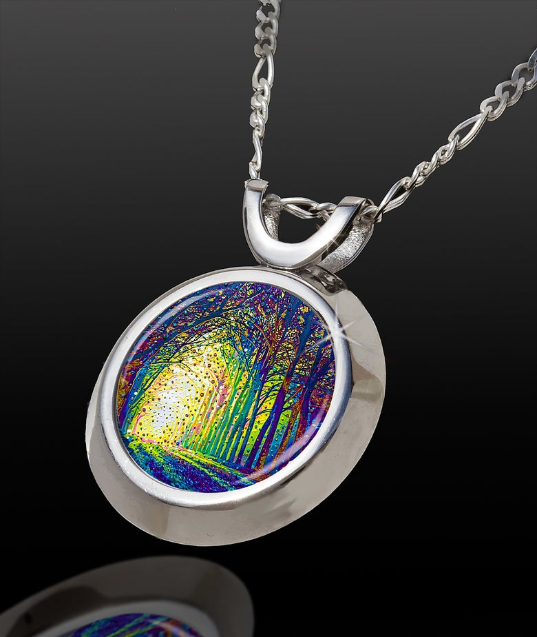 Image of Cathedral Of Light Divine Revelations Energy Pendant - Magic Chi Collection