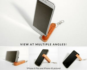 Image of Mini Portable iPhone Keychain Stand