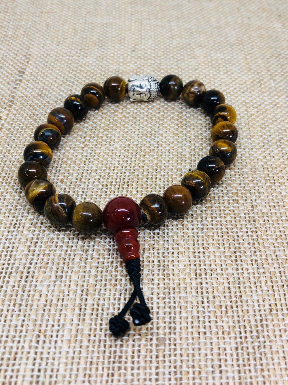 Image of Gemstone Stretch Bracelets