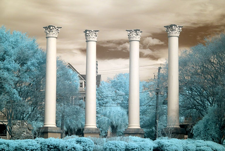 """Image of """"Old Charleston Museum Infrared"""" 13x19 Art Paper"""