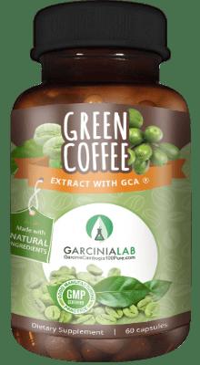 Green coffee with 50 chlorogenic acid