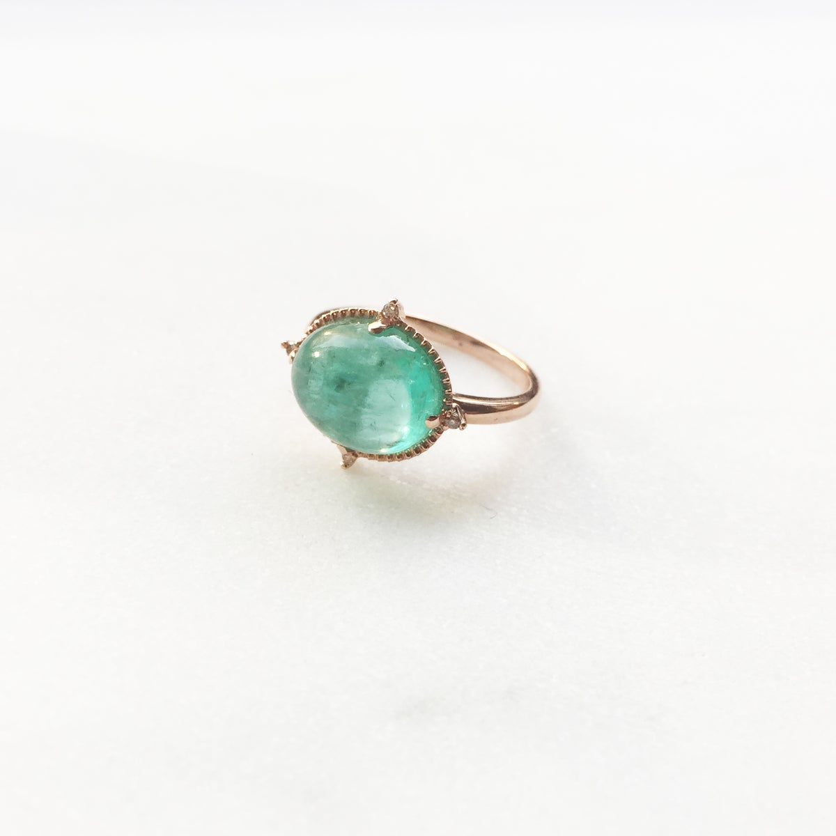 Image of Victorian Emerald Ring