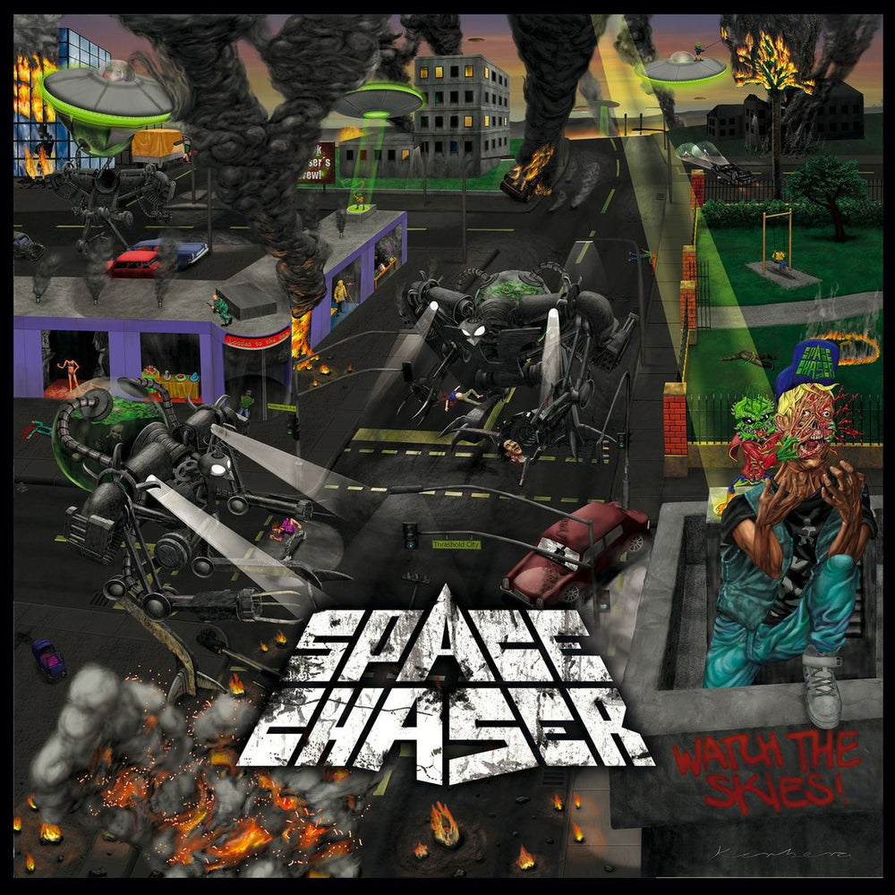 Image of Space Chaser - Watch The Skies CD