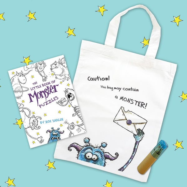 Image of The Little Book of Monster Puzzles Gift Bag