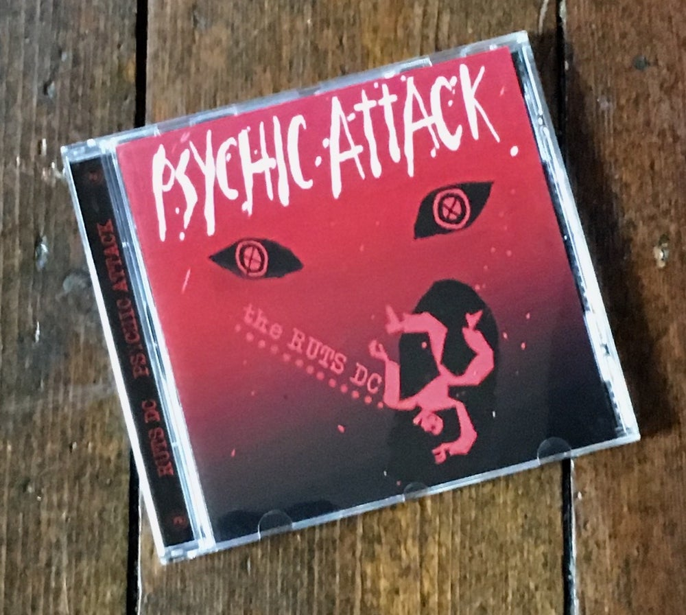 "Image of RUTS DC ""Psychic Attack"" CD Single"