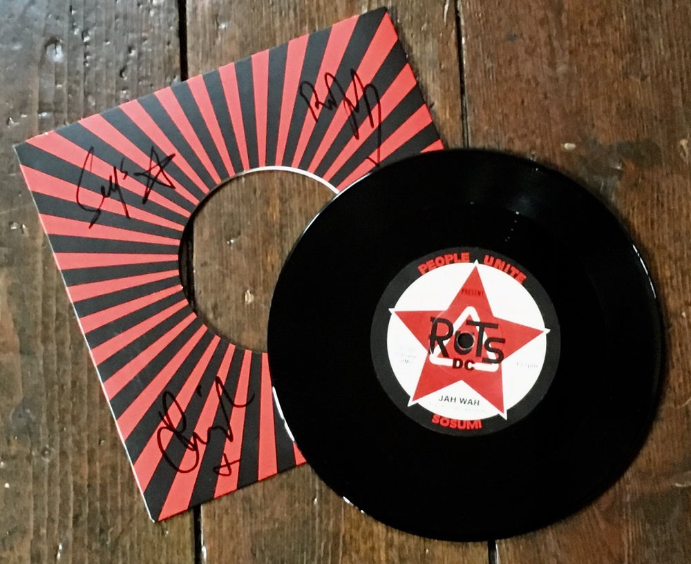 "Image of RUTS DC ""Jah War"" 7"" Vinyl Single"