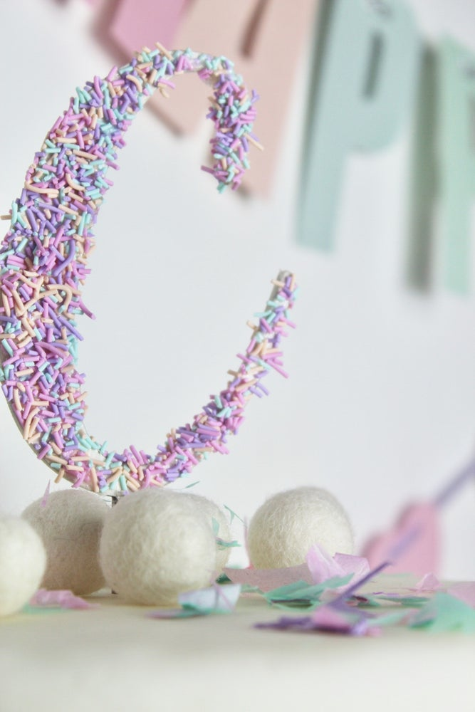 Image of Sprinkles cake topper