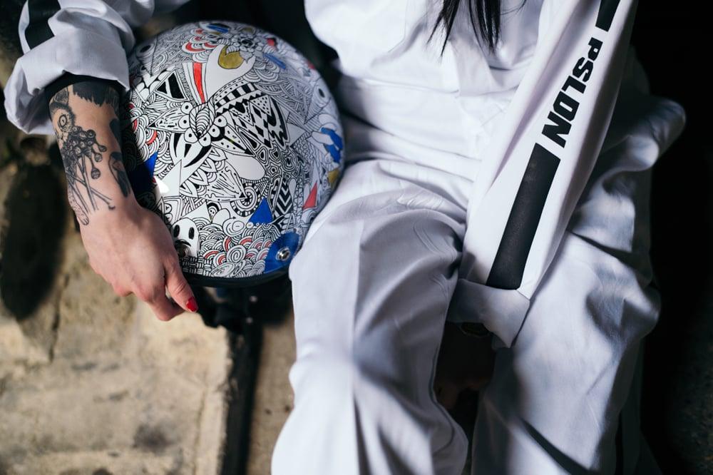 Image of PSLDN AllWare x Jean Cyrus Motorcycle Helmet