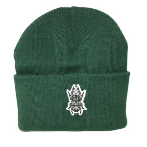 Image of Bottle Green Beetle Beanie