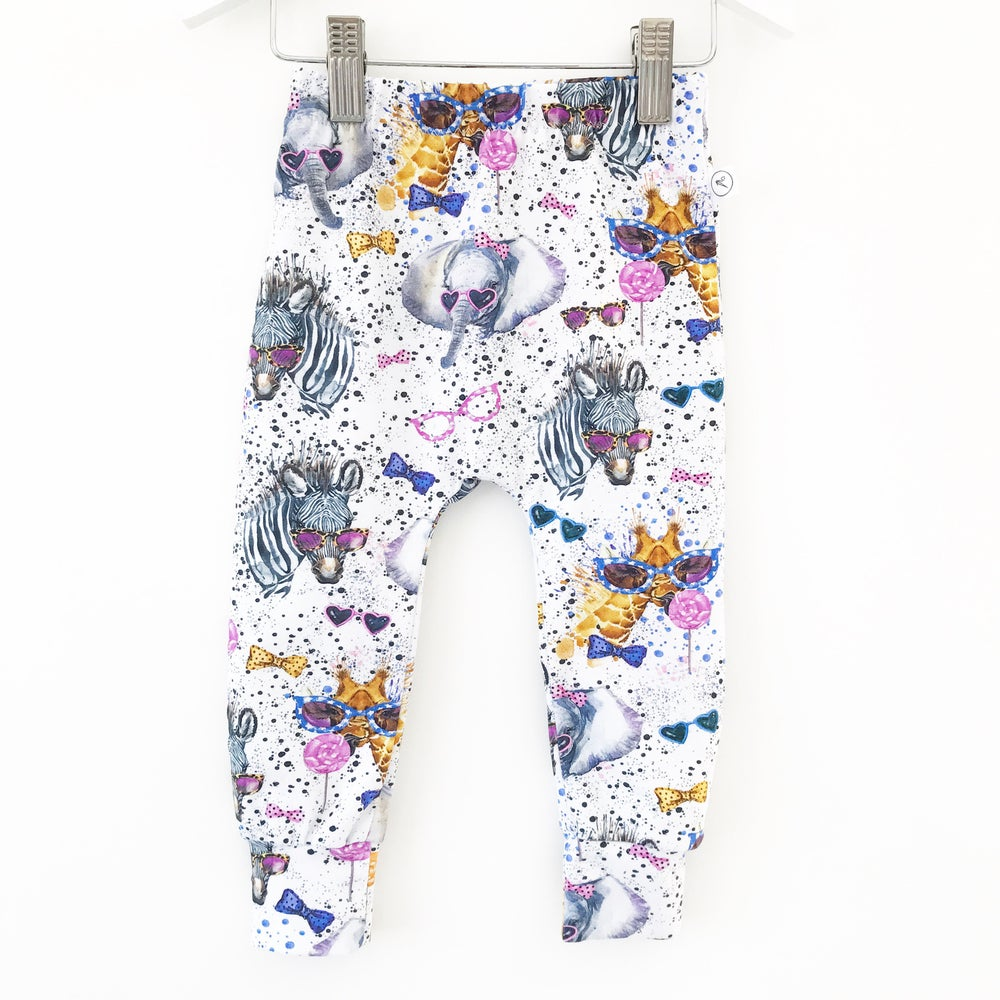 Image of Hipster Animals Leggings