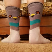 Image of 🐦 Best Foot Friends: Pigeon Socks 🐦