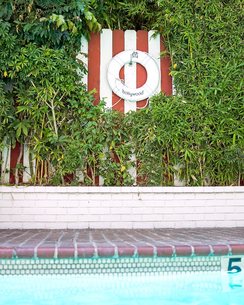 Image of chateau marmont pool