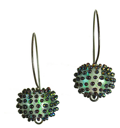Image of Meteorite Earrings