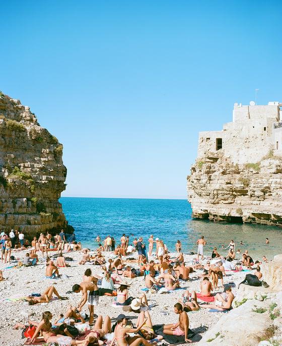 Image of Italy beach scene #1