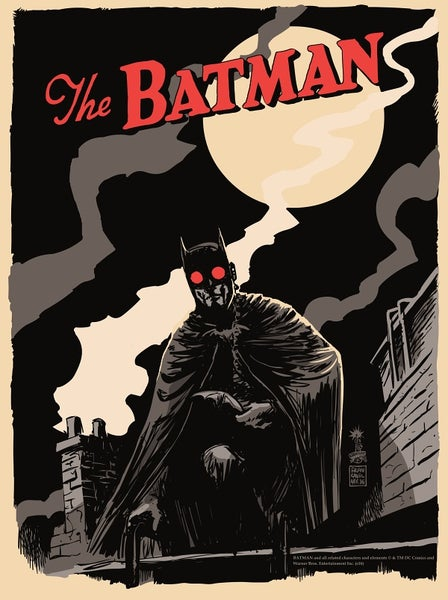 Image of Batman Crimson Harvest Mondo Screen Print APs