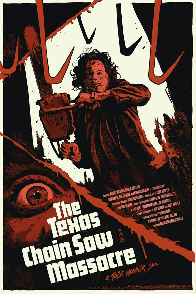 Image of Texas ChainSaw Massacre Reg Ed - Artist Proof