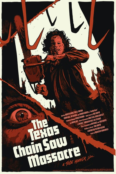 Image of Texas ChainSaw Massacre Reg Ed - Artist Proof