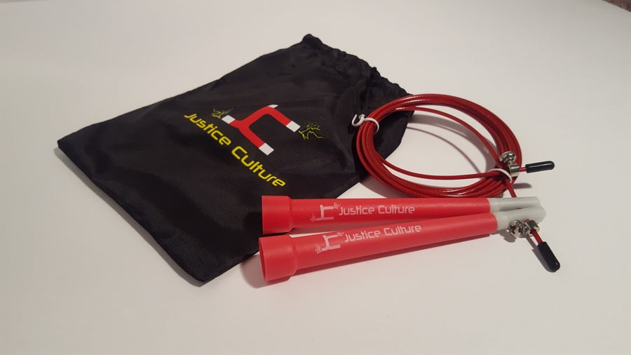 Image of Justice Culture Speed Rope-Red