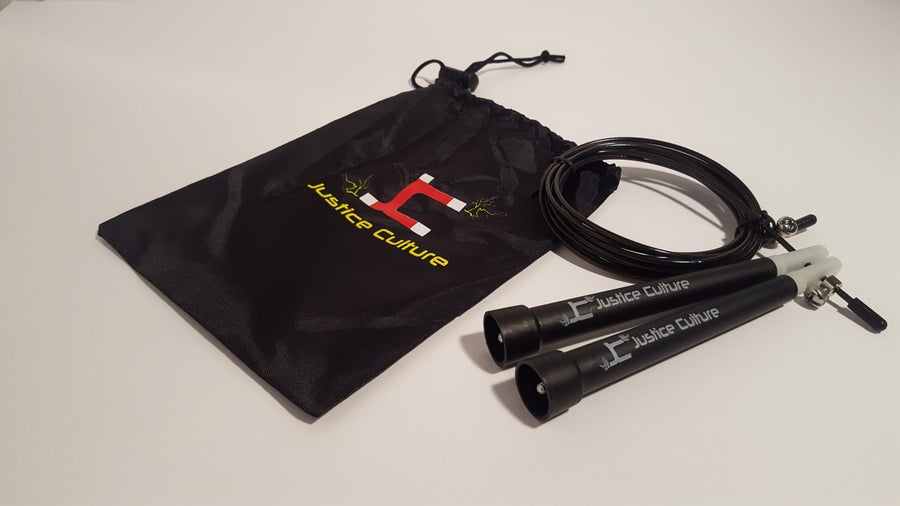 Image of Justice Culture Speed Rope-Black