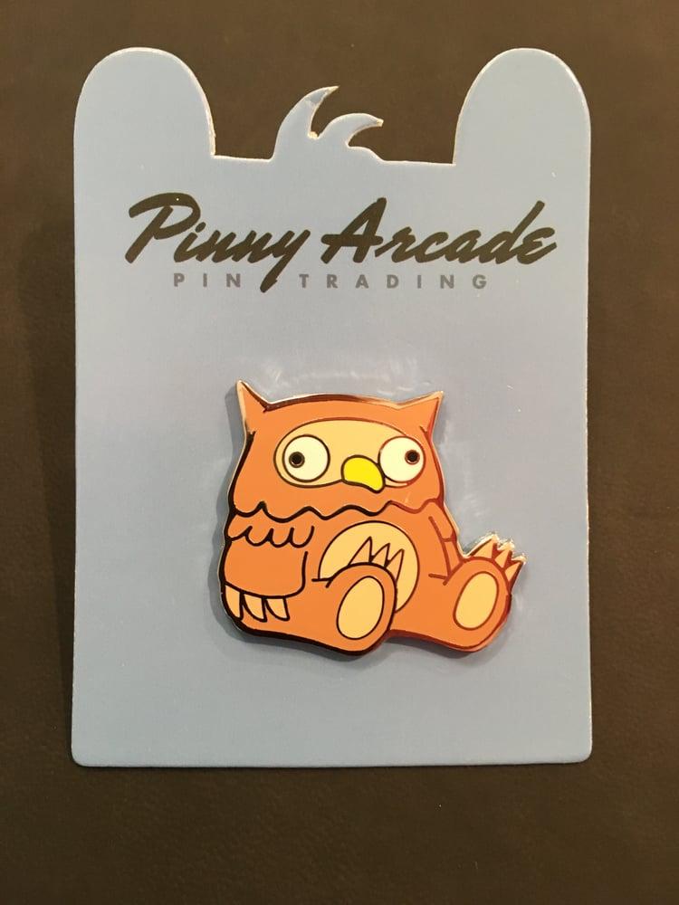 Image of Owlbear Pin