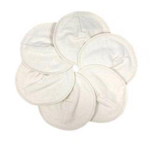 Image of Ammeindlæg i økologisk bomuld • pakker med 6 stk.