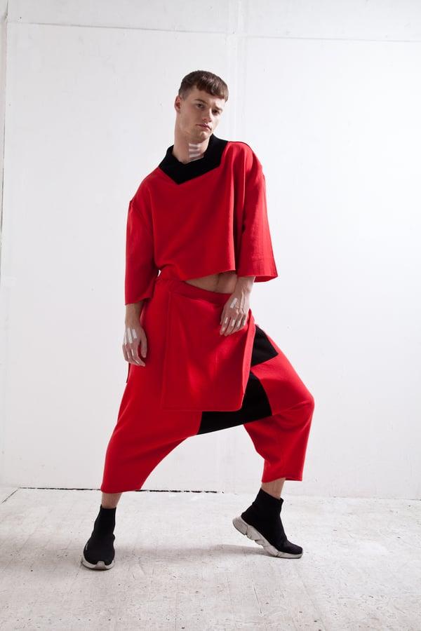 CROP TOP RED