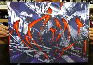 Image of K - Ivry chaos siver print (rehaussé)