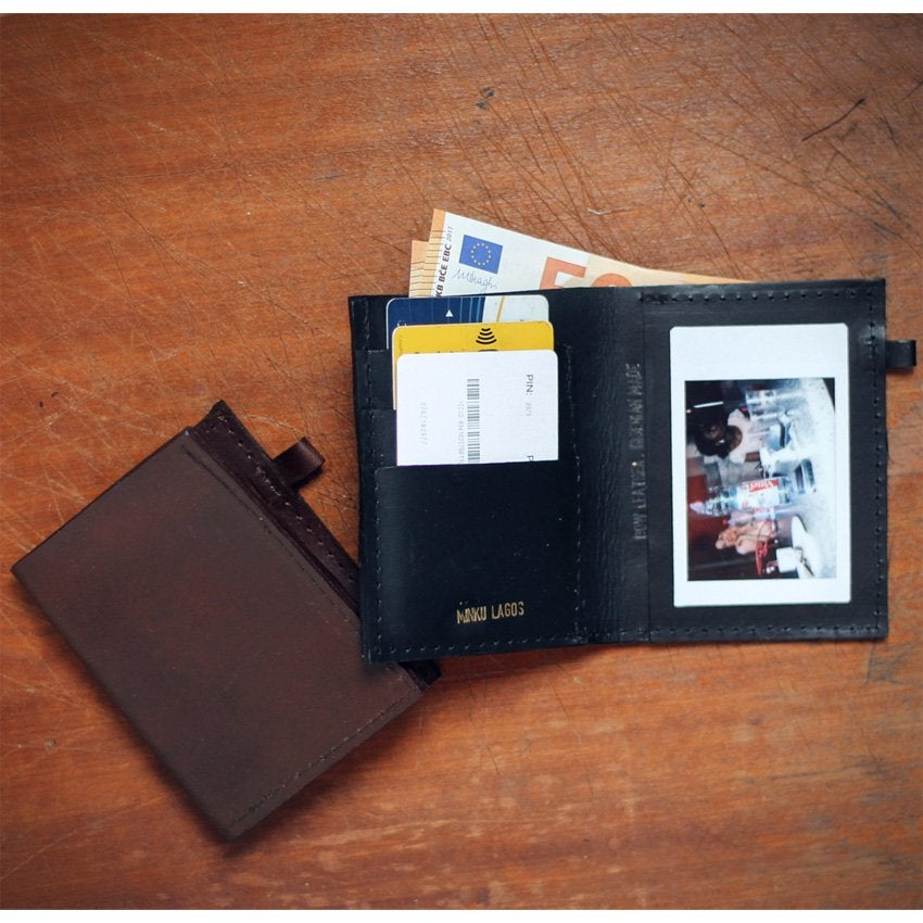 Image of Minku men's bi-fold wallet