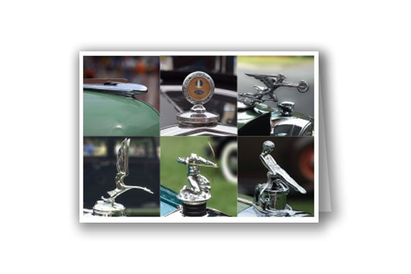 Image of Hood Ornaments card #two
