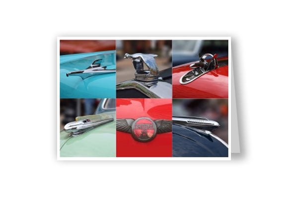 Image of Hood Ornament card #three
