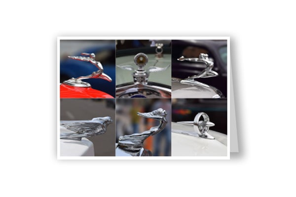 Image of Hood Ornament card #four