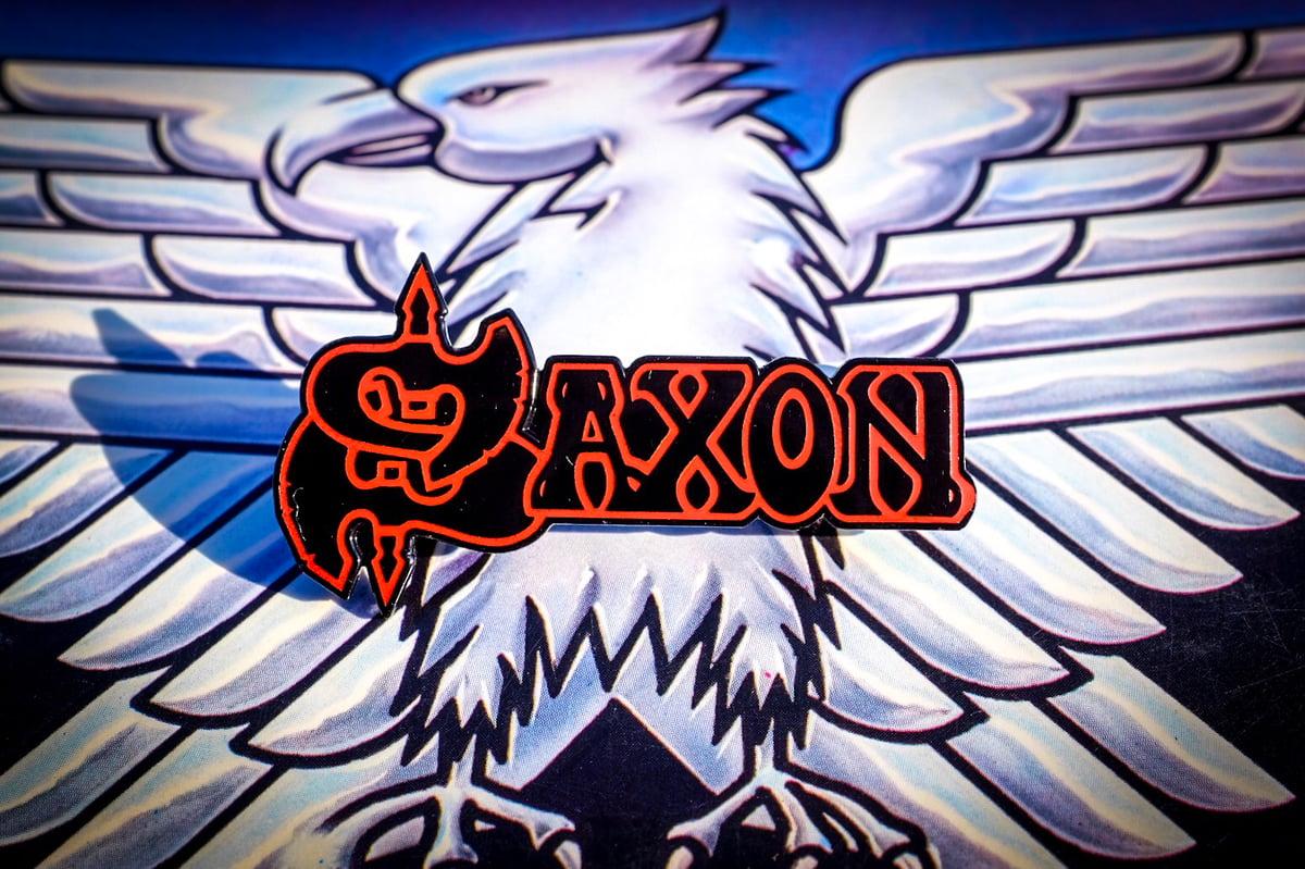 Image of Saxon Enamel Pin
