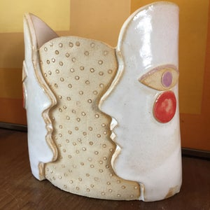 Image of Cocteau twin vase