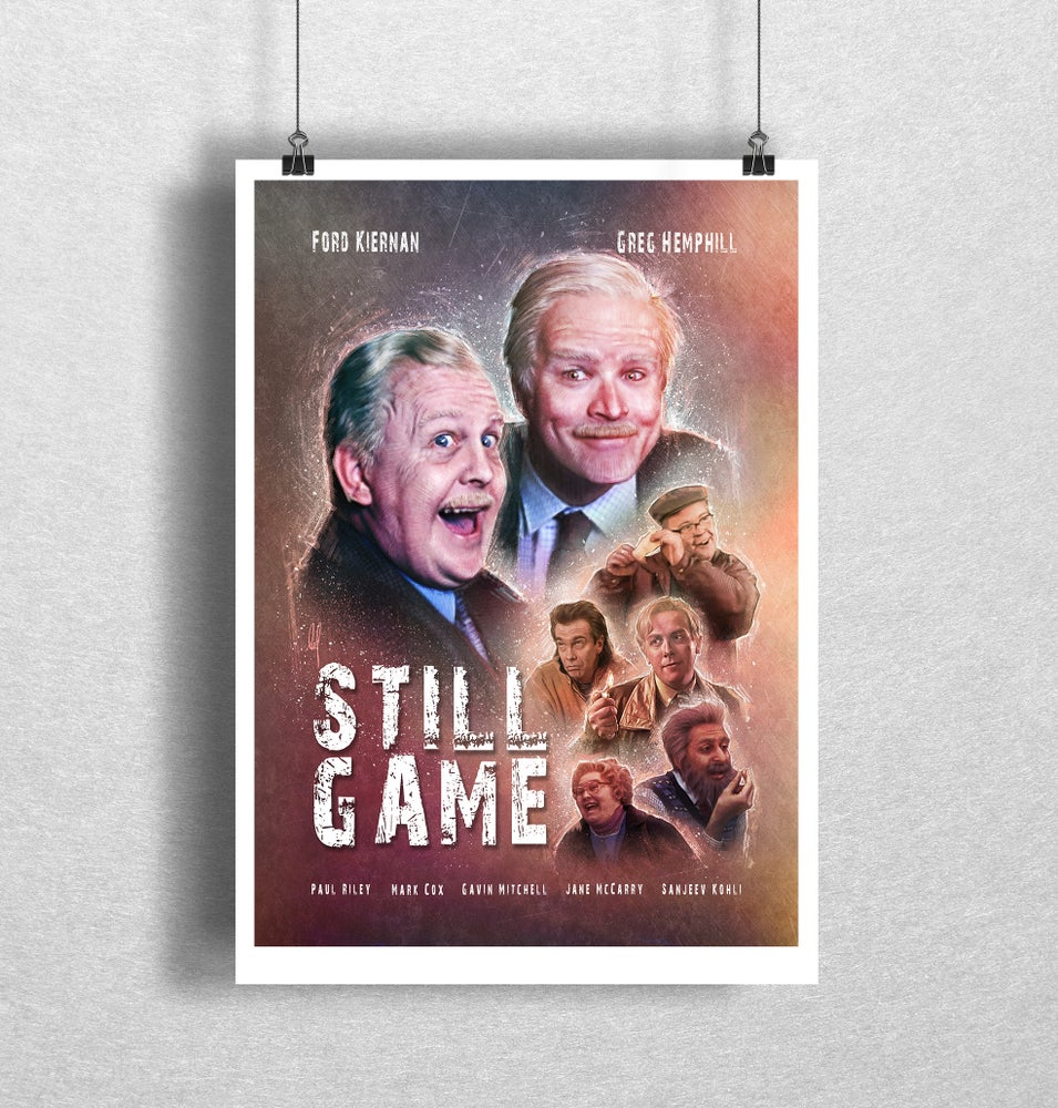 Image of Still Game Art Print